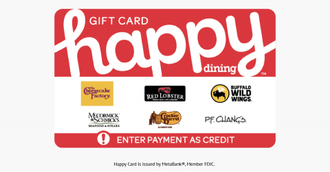 Blackhawk Network's Happy Cards® Celebrates Growth of Personalized, Multi-Merchant Cards and Exciting New Trends in Gift Cards and Incentives